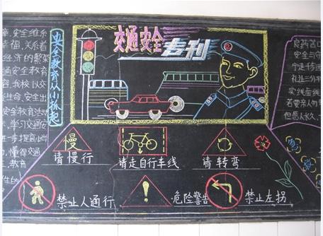 交通安全黑板報大全