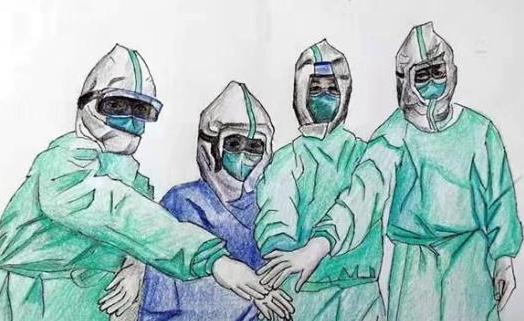 抗击疫情小使者漫画 众志成城抗击疫情漫画图片 动漫资讯  2020年2月图片