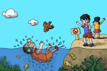 2020防溺水安全教育主题班会教案5篇