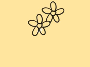 漂亮的野花简笔画要怎么画