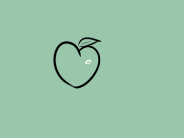 可愛的水蜜桃簡筆畫要怎么畫