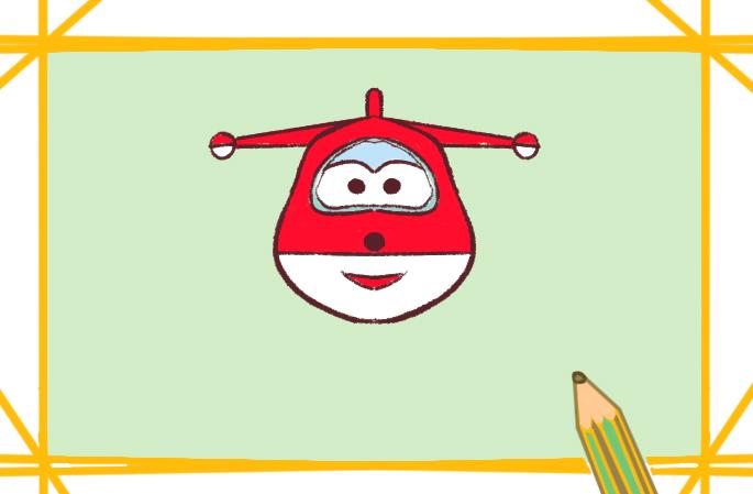 兴趣爱好 学画画 简笔画 《卡通超级飞侠简笔画要怎么画》正文图片