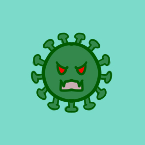 新型肺炎之新型冠状病毒简笔画要怎么画