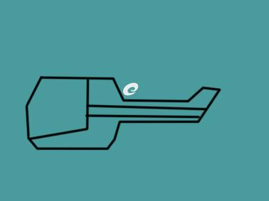 卡通的直升飞机简笔画要怎么画