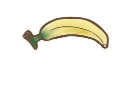 好吃的香蕉简笔画怎么画