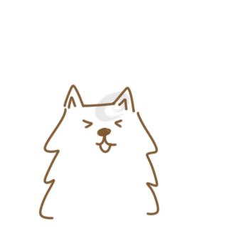 超简单的狗狗简笔画原创教程步骤